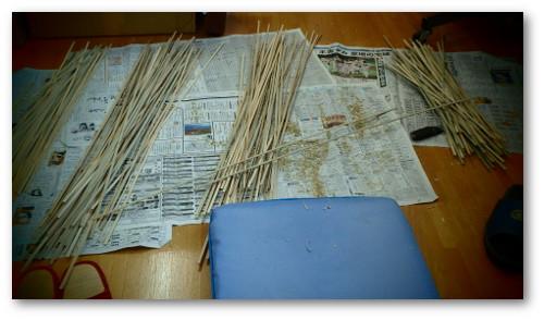 織物製凧用竹材01